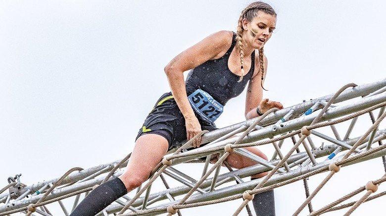 Obenauf: Die 33-Jährige Silke Tammert ist eine Kämpfenatur. Das hilft ihr auch beruflich.