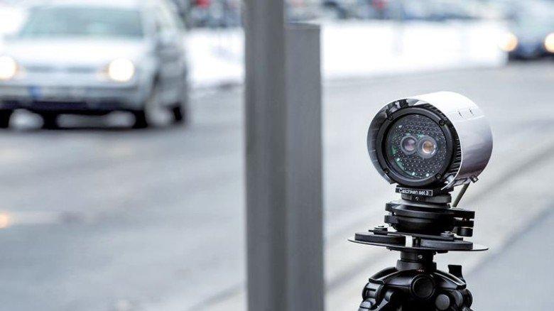 Kein Blitzer: Dafür nimmt diese Kamera Kennzeichen auf. Foto: dpa