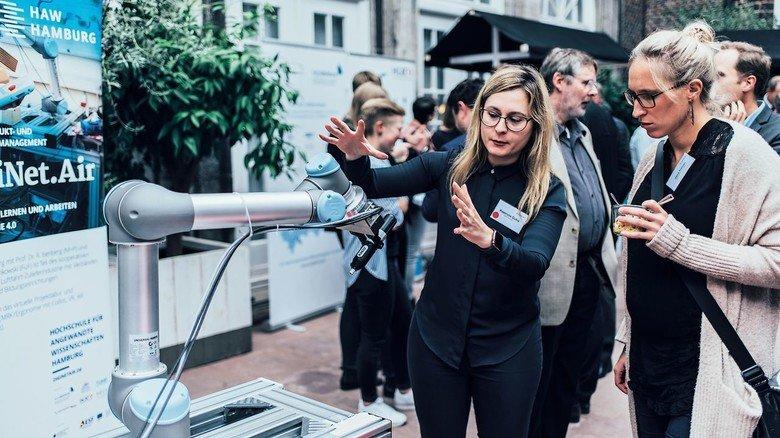 Roboter: Technologien der Zukunft zum Anfassen.