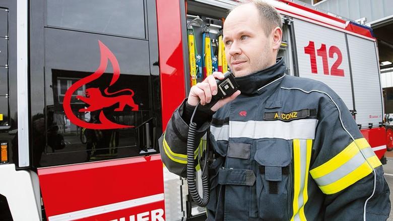 Einsatz: Er ist als Kommandant besonders gefordert. Foto: Mierendorf