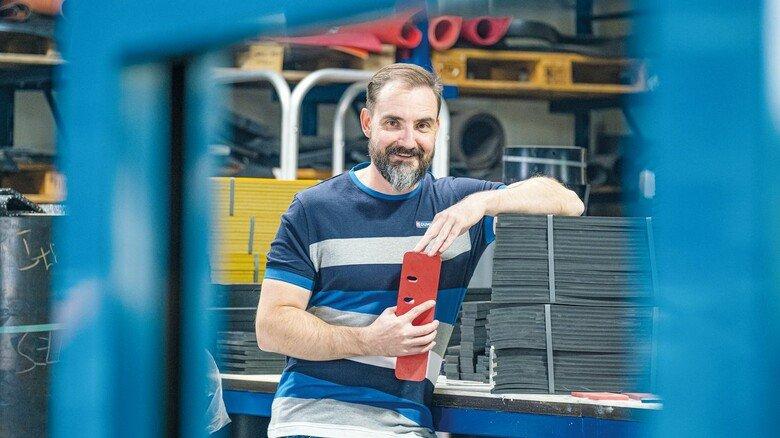 Liebt schnelle Entscheidungen: Jan Andreas Müller leitet den Familienbetrieb.