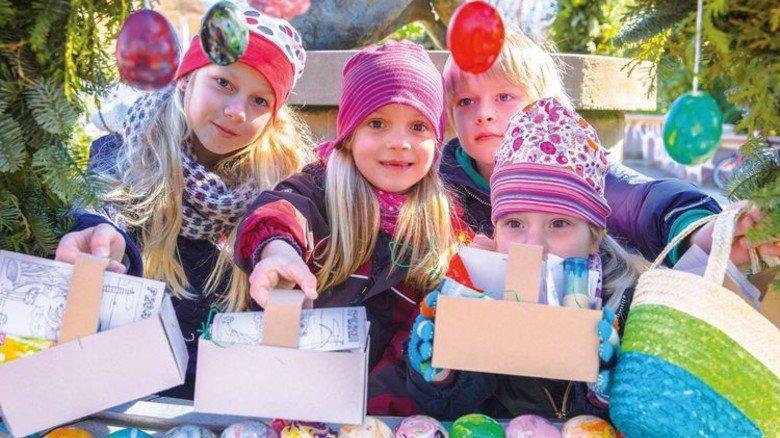 Kreativ: In Kühlungsborn können Kinder Ostereier bemalen und färben. Foto: Jens Wagner