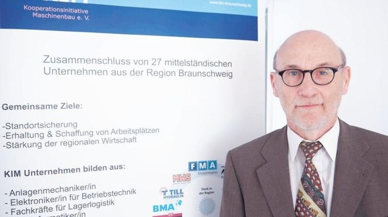 Mann der ersten Stunde: Rainer Kupetz ist seit der Gründung 1998 bei KIM dabei. Foto: Gossmann
