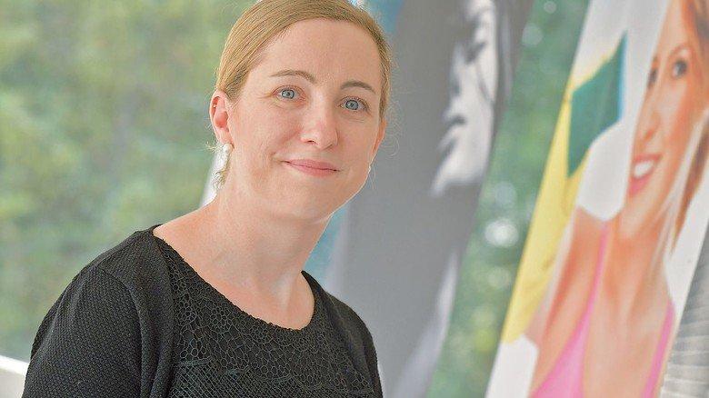 Baut auf Kommunikation: Corinna Schweppe von der Personalabteilung.