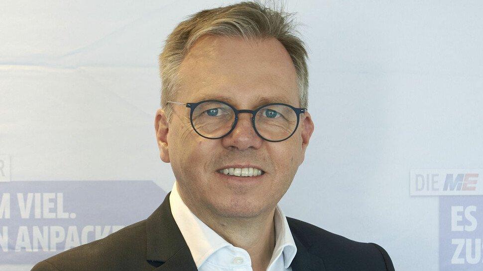"""""""Dieser Tarifabschluss ist gut für Betriebe und Beschäftigte"""", Johannes Heger, Präsident von Pfalz-Metall und Verhandlungsführer der Arbeitgeber von M+E Mitte."""