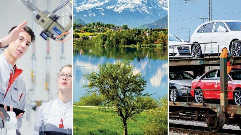 Spitzenforschung, traumhafte Natur und Automobilbau: Bayern hat von allem etwas und ist ein lebenswertes Land mit starker Wirtschaft. Foto: Mauritius, dpa
