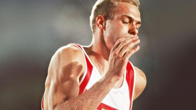 Mann mit Power: Paul Meier 1992 als Olympia-Teilnehmer … Foto: dpa