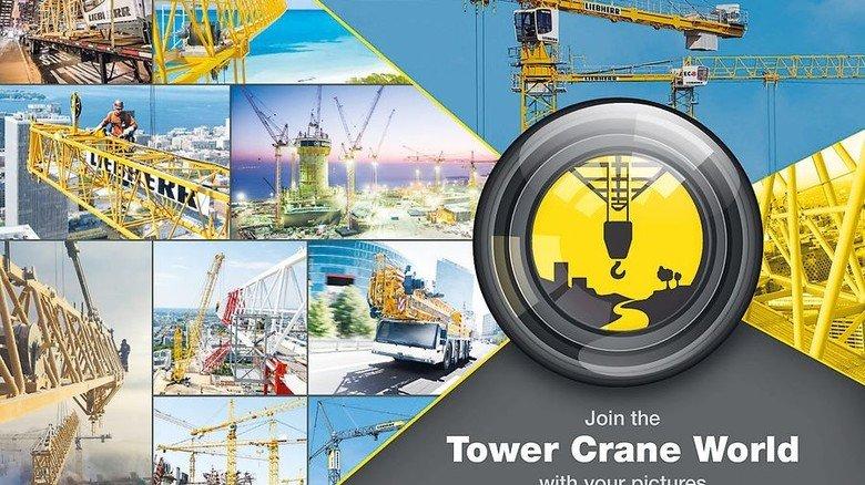 Plattform gestartet: Liebherr-Fans zeigen auf der Fotoplattform Turmfdrehkrane auf der ganzen Welt. Foto: Liebherr