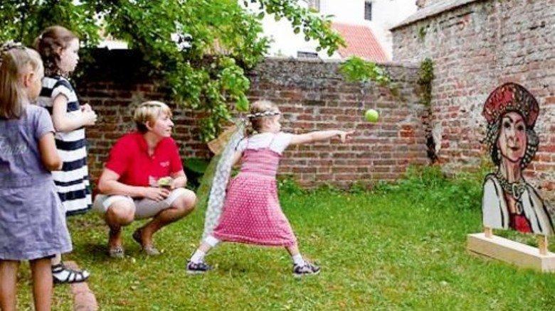 Feste Trausnitz: Spielprogramm auf dem Burgfest. Foto: Haßler