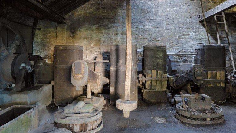 Wurde im 17.Jahrhundert gebaut: Jetzt ist der Hammer wieder einsatzfähig. Foto: Hannappel
