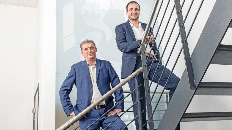 Gutes Gespann: Detlev und Dennis Böhm mussten nicht lange über die Übernahme des Betriebs nachdenken.