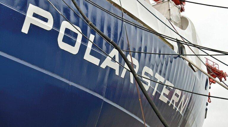 """Seit vier Jahrzehnten im Dienst: Die """"Polarstern"""", gebaut von HDW in Kiel und Nobiskrug in Rendsburg, zählt zu den modernsten Forschungsschiffen der Welt."""