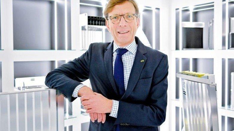 Mensch mit Engagement: Unternehmerpräsident Wolf Matthias Mang. Foto: Scheffler