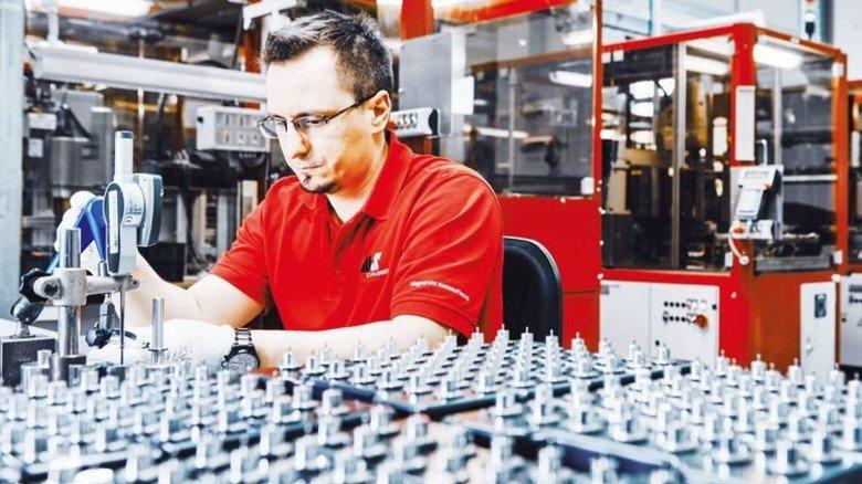 Produktion: In Schramberg werden Hightech-Magnete für Fahrzeuge gefertigt. Foto: Werk