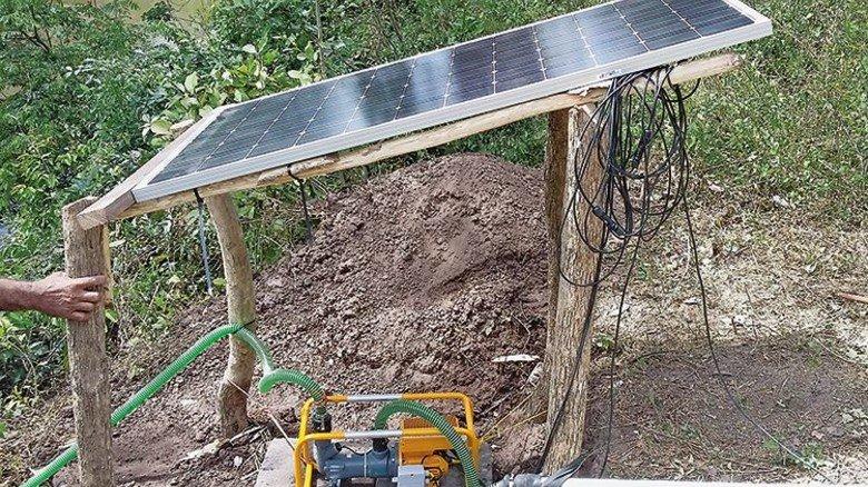 Innovative Energiequelle: Solarmodule sorgen für Strom. Foto: Werk