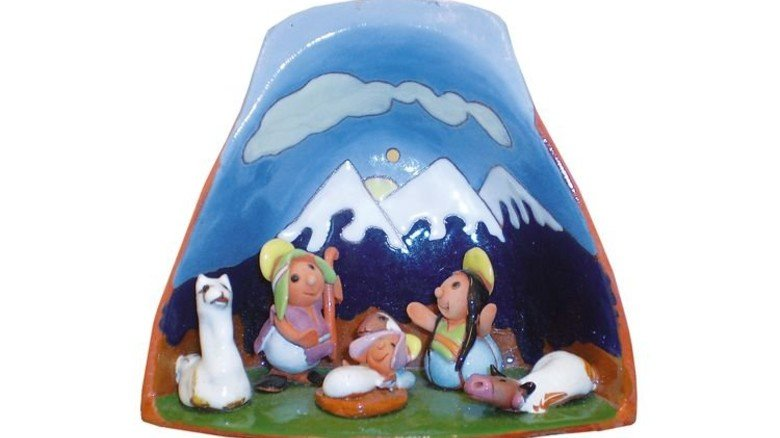 Bolivien: Im Andenland gehören auch Berge und Lamas zur Kulisse. Foto: Ringguth-Stiftung