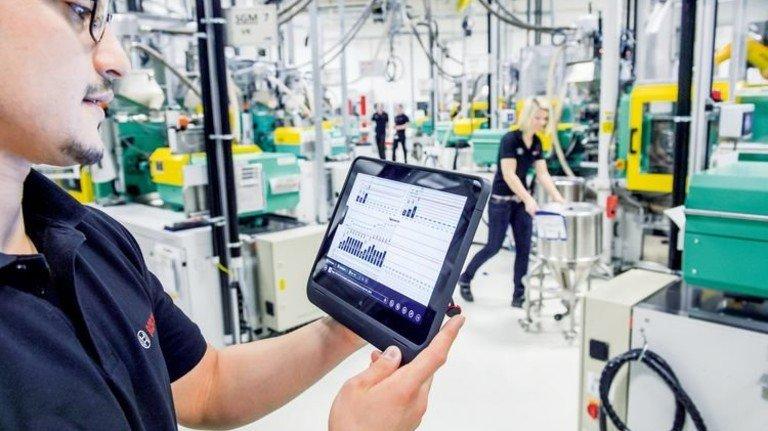 Digital im Job: Alle Daten sind griffbereit. Foto: dpa