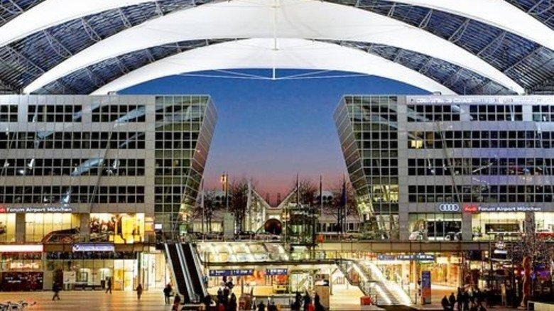 Drehkreuz: München hat immer mehr internationale Gäste. Foto: Flughafen München