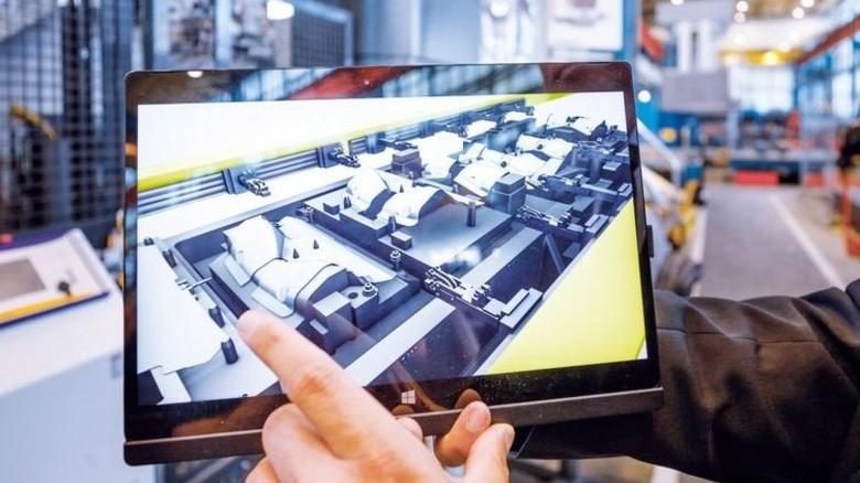 Einfach erklärt: Das System schickt ein Video aufs Tablet. Foto: Stoppel