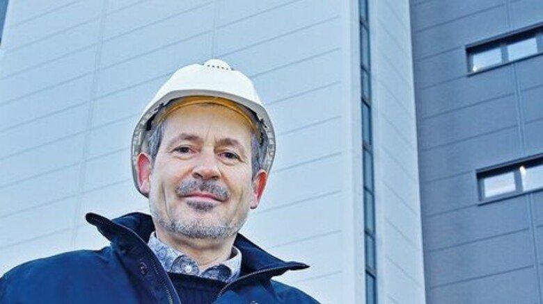 """Projektleiter Michael Sommer: """"Diese Investition ist ein klares Bekenntnis zum Standort, sichert Arbeitsplätze und schafft neue."""""""