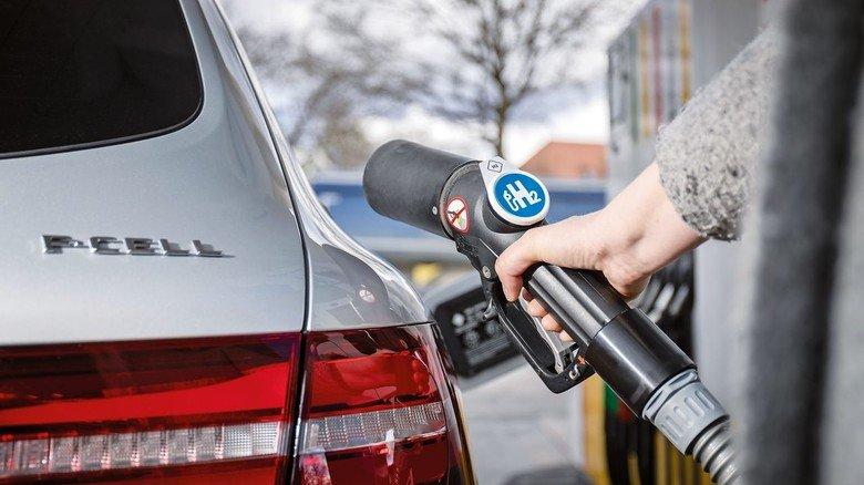 Tank-Problem: Noch gibt es zu wenige Wasserstoff-Tankstellen, in Deutschland sind es bislang nur 75 Stück.