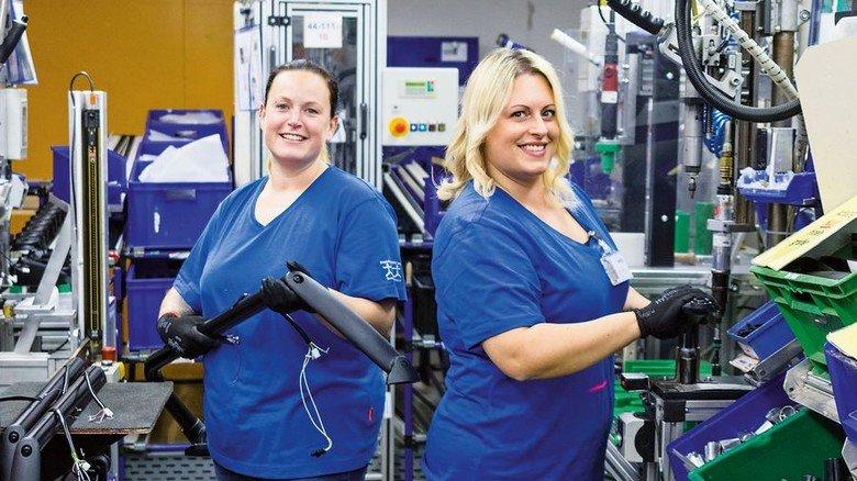 Sanfter Start: Das Unternehmen MEKRA Lang bietet spezielle Arbeitsplätze für den Einstieg nach der Elternzeit. Foto.Werk