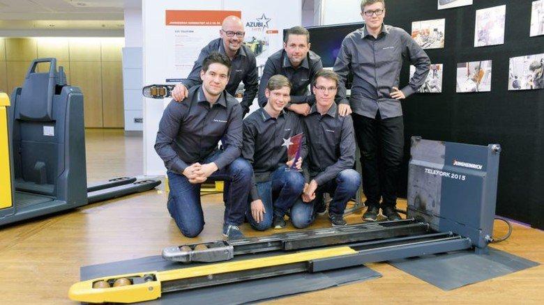Arbeit und Vergnügen: Die Mannschaft von Jungheinrich in Norderstedt belegte 2015 den zweiten Platz. Foto: Nordmetall