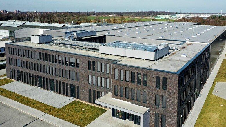 Neubau: Das Gebäude wurde innerhalb eines Jahres fertiggestellt und in Betrieb genommen.
