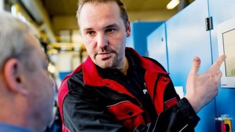 Piller-Mitarbeiter Marko Lange: Zwölf Jahre lang Einsätze in fernen Ländern. Foto: Küstner