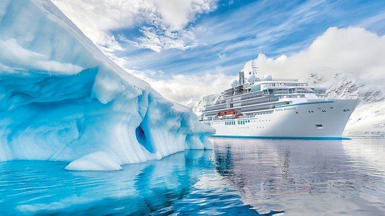 Eisgängig: Das Schiff soll unter anderem in südpolaren Regionen fahren. Foto: MV Werften