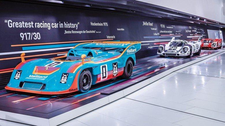 Das Porsche-Museum feiert den 917er, der 50 Jahre alt wird.