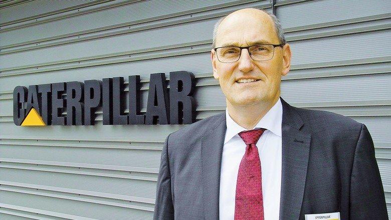 Verantwortlich: Frank Starke, Geschäftsführer von Caterpillar Motoren in Warnemünde.