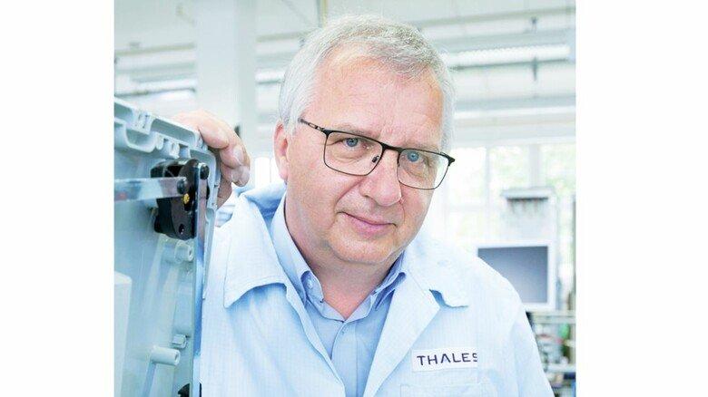 """Thales-Standortleiter Steffen Müller: """"In Sachen Digitalisierung hat uns Corona einen Schub gegeben."""""""