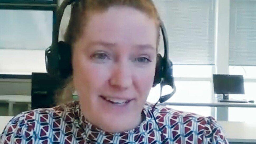 Aljona Karstens: Die Einzelhandelskauffrau und alleinerziehende Mutter von drei Kindern orientiert sich neu. Sie will Steuerfachangestellte werden.