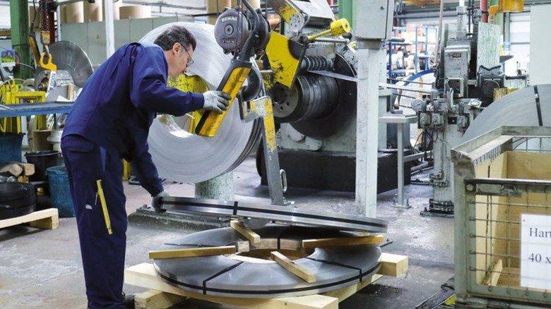 Es läuft rund in der Region: Produktion bei Boecker-Wender-Stahl (BWS). Foto: Higo