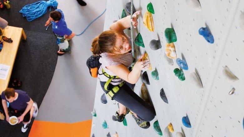 Buchholz: Auf 900 Quadratmetern gibt es 300 Routen. Foto: Kletterzentrum Buchholz