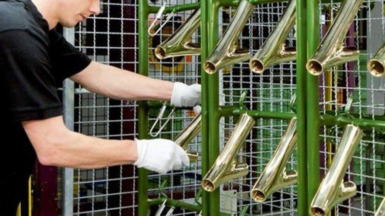 Design: Hier entstehen Badarmaturen der Luxusmarke Axor. Foto: Werk