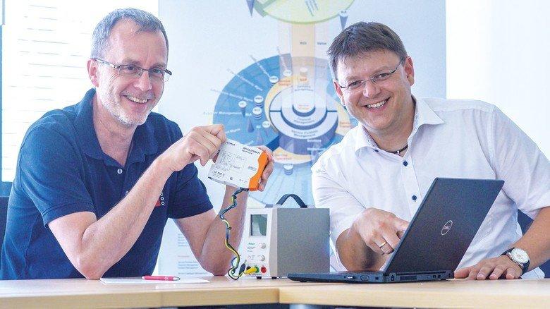 Die COC-Vorstände: Andreas Bublak (links) und Robert Zellner.