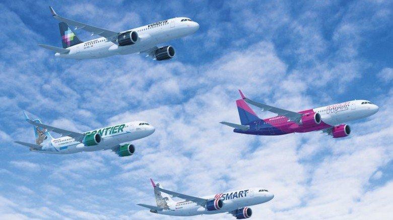 60 Jets vom Typ A320neo will Airbus ab 2019 monatlich produzieren. 92 Millionen Euro kostet der Airbus A320neo laut Liste in normaler Ausstattung. Foto: Werk