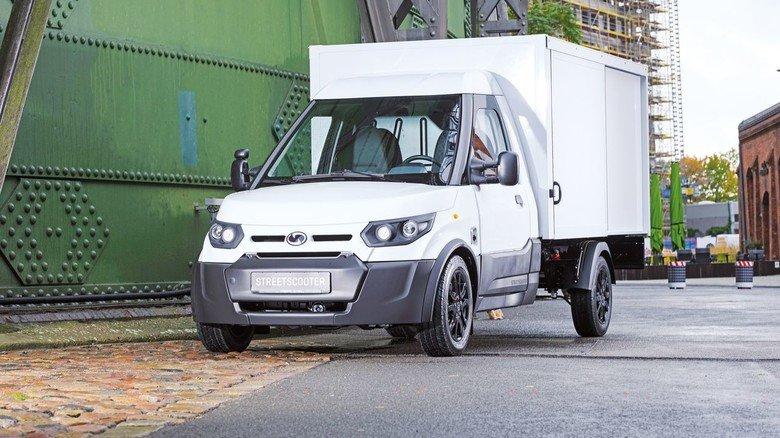 Streetscooter: Der E-Transporter läuft in Aachen und Düren vom Band. Er war ursprünglich für die Post entwickelt worden.