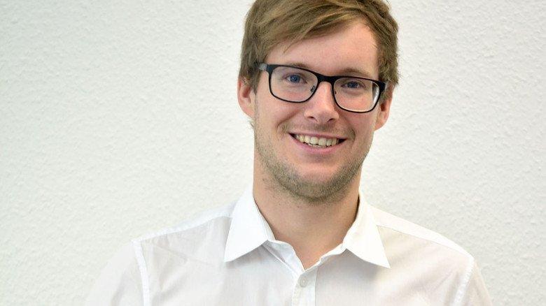 """Davild Kelm: """"Katzenbilder sind der Klassiker"""", so der Chef von IT-Seal in Darmstadt."""