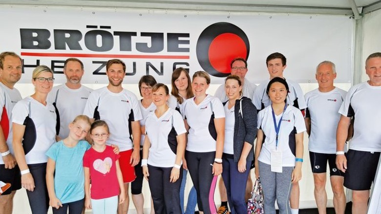 Fitness mit der Firma: Das Rasteder Unternehmen fördert die sportlichen Aktivitäten seiner rund 500 Beschäftigten nach Kräften. Foto: Werk