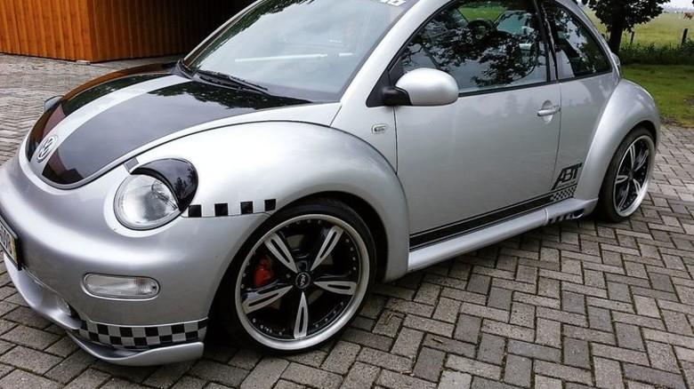 Hobby: In diesen VW Beetle hat Jens Steppat einige Hundert Arbeitsstunden investiert. Foto: Privat