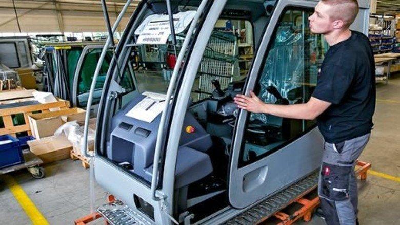 Spezialprodukte: Pro Serie werden höchstens 800 Kabinen gefertigt. Foto: Mierendorf