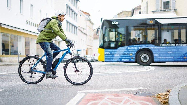 Gesundheit: Auch mit E-Bike-Leasing bekämpft Bosch den Schadstoffgehalt in den Städten.