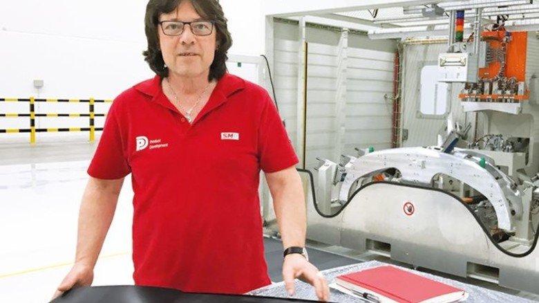 """""""Ich habe hier das größte Potenzial für meine Weiterentwicklung."""" Martin Neumohr, leitender Produktingenieur. Foto: Werk"""