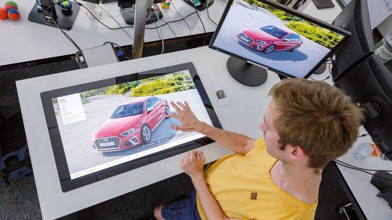 Autokauf: Das gewünschte Modell lässt sich heute am Computer zusammenstellen – und dann virtuell begutachten.
