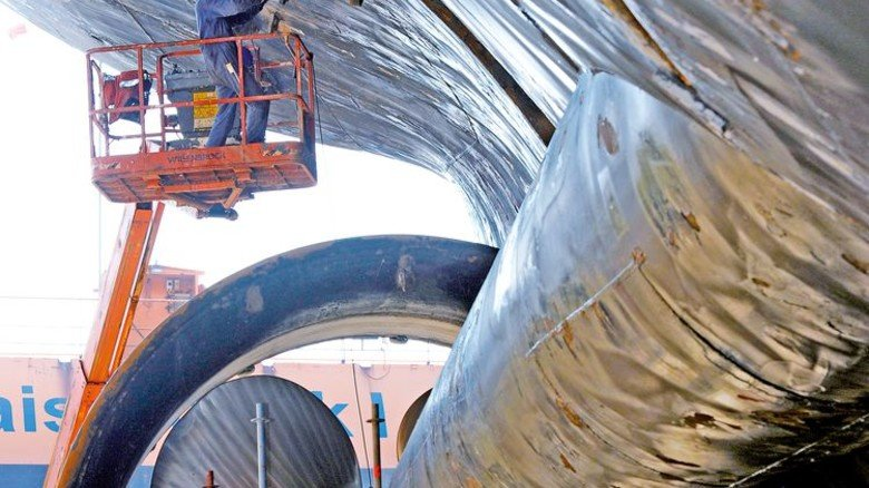 Sorgen: Auch viele Schiffbaubetriebe im Norden sind nicht mit der Entwicklung zufrieden. Foto: dpa