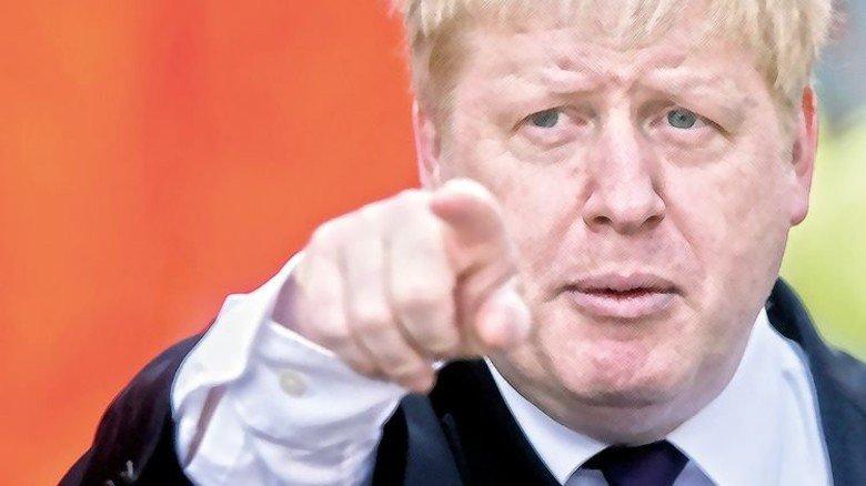 """""""Der EU zu entkommen, ist wie aus dem Gefängnis auszubrechen."""" Boris Johnson, Außenminister von Großbritannien. Foto: dpa"""
