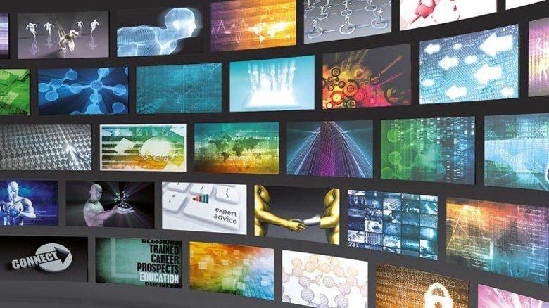 Gefragte Spitzentechnik: LCD-Flachbildschirme liefern brillante Farben. Foto: Fotolia